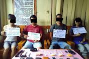 Polisi Ringkus Komplotan Bandar Sabu Di Rimbo Bujang