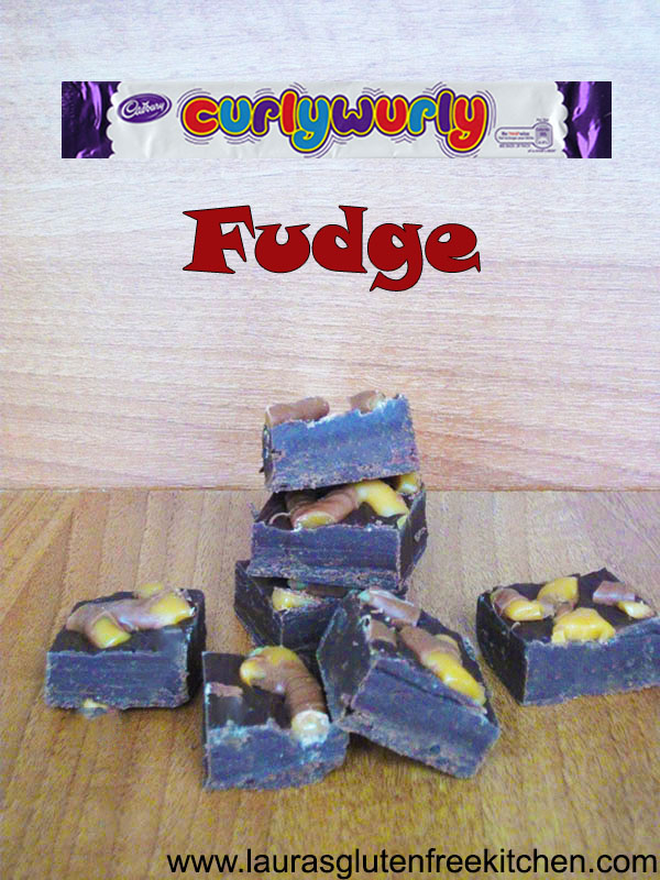Gluten Free Curly Wurly Fudge