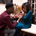 Photos: US based Nigerian music producer, Iamdbeatz, gets engaged