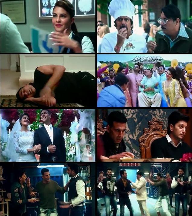 Download Housefull 3 2016 Hindi DVDScr 350MB