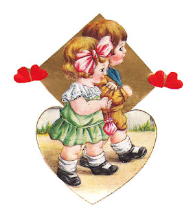 valentine printable design girl boy image heart digital
