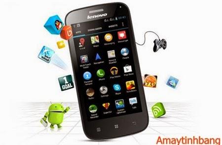 Smartphone giá rẻ lenovo A760
