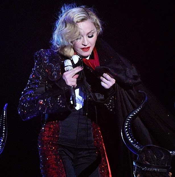 Madonna left 'miserable' and 'in pain' after Brit Awards tumble