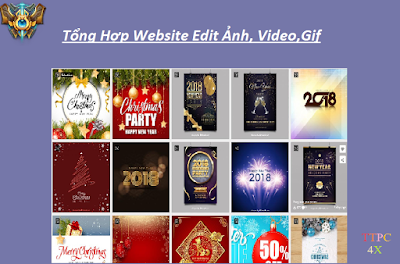 Tống Hợp Website Edit Ảnh,Video,Gif