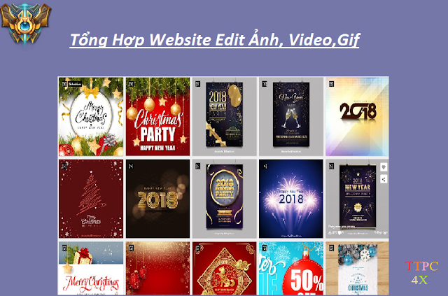 Tống Hợp Website Edit Ảnh,Video,Gif