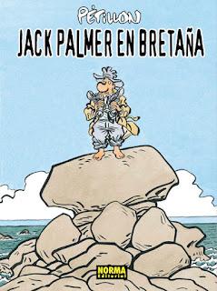 JACK PALMER EN BRETAÑA  Comic Europeo de René Pétillon