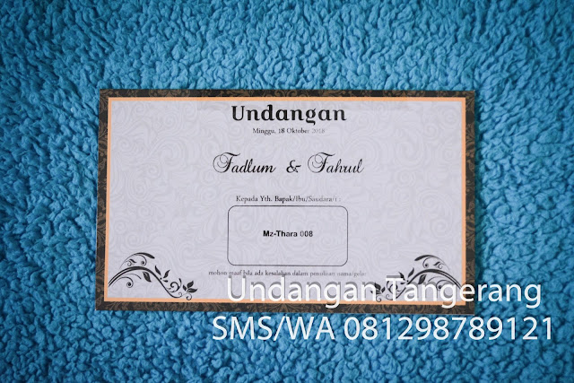 Undangan Pernikahan Thara 08