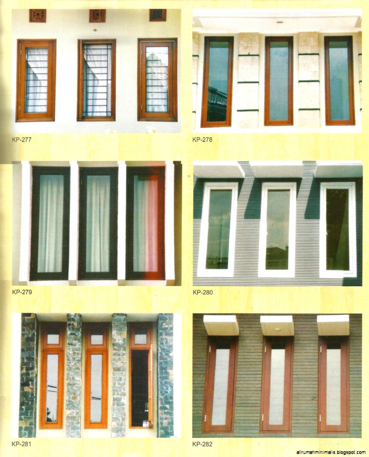 Download Kumpulan Gambar Sketsa Jendela Rumah