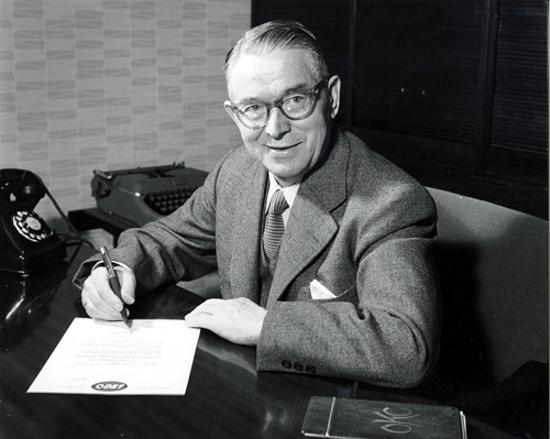 Ole Kirk Kristiansen in 1957