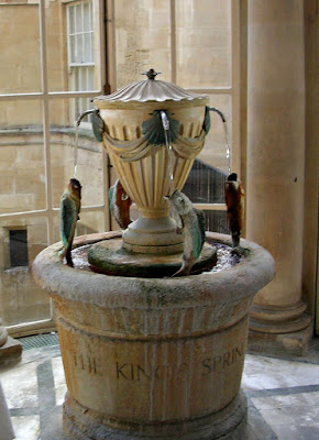 High Tea, Pump Room, Bath, England, king's spring, spring water