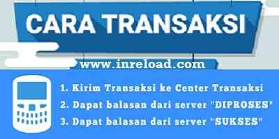 cara transaksi server pulsa