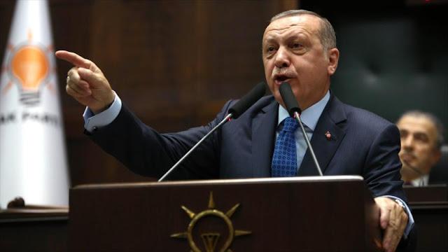 """Erdogan saluda ataque de EEUU a Siria en respuesta a una """"masacre"""""""