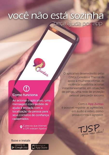 aplicativo mulheres vítimas de violência PLP20