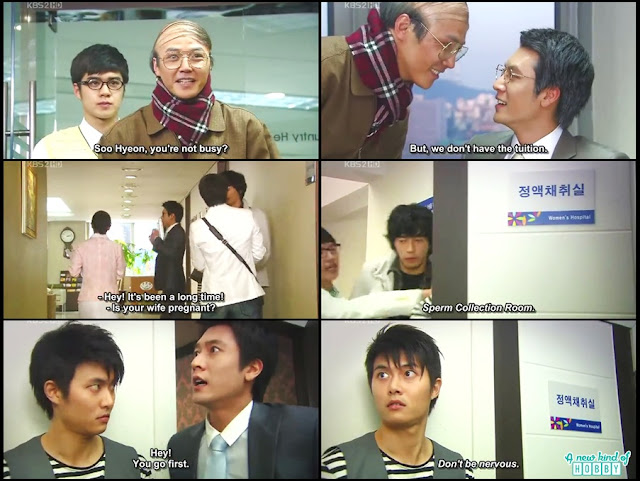 Comedy that will Make You Fart - Three Dad One Mom - Korean Drama 2008