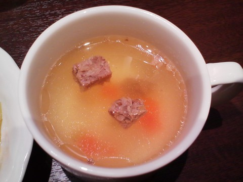 スープ いきなりステーキリーフウォーク稲沢店2回目