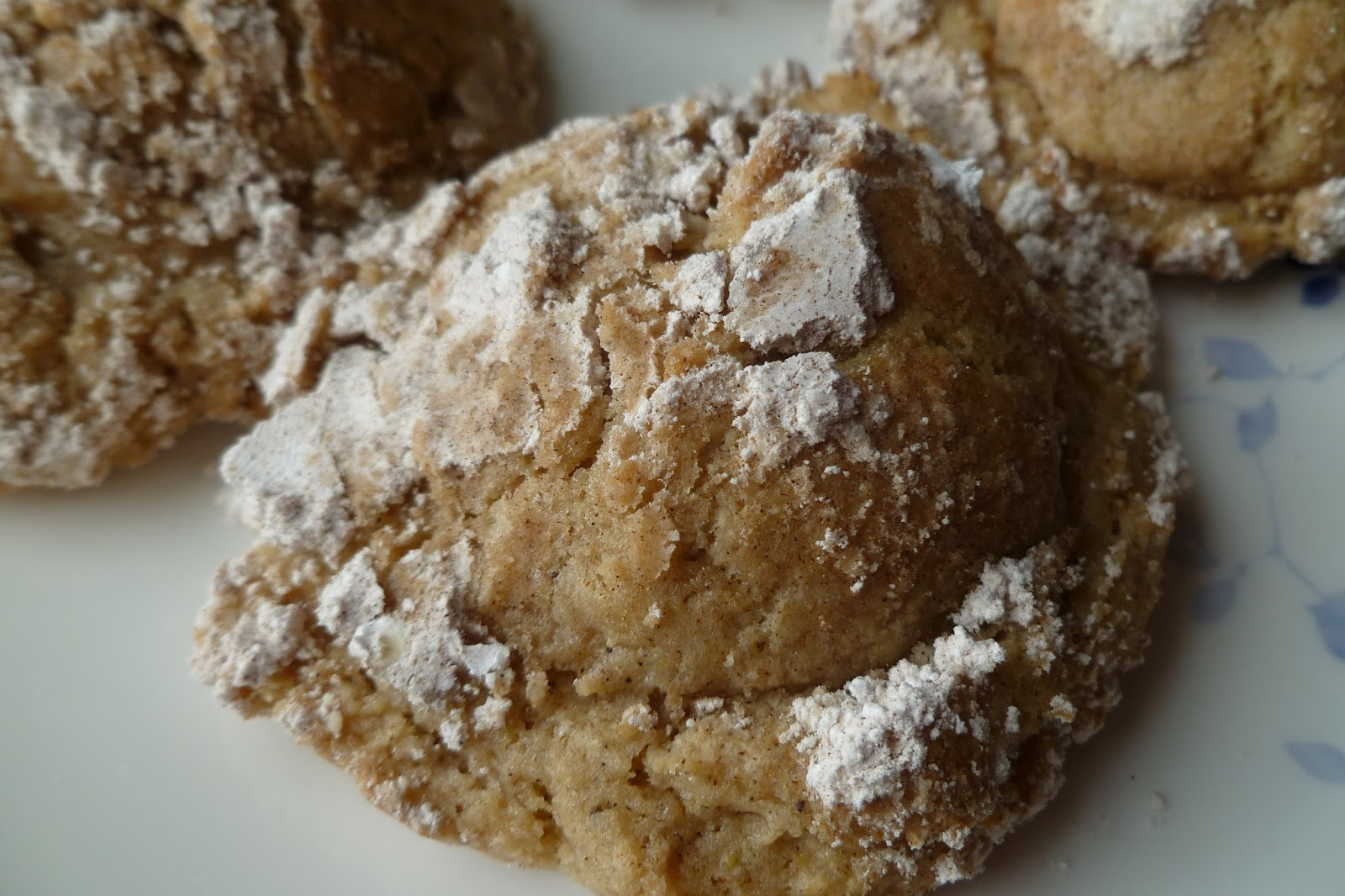 Brown Butter Cinnamon Crinkles - made dough May 14, 2016, modified ...