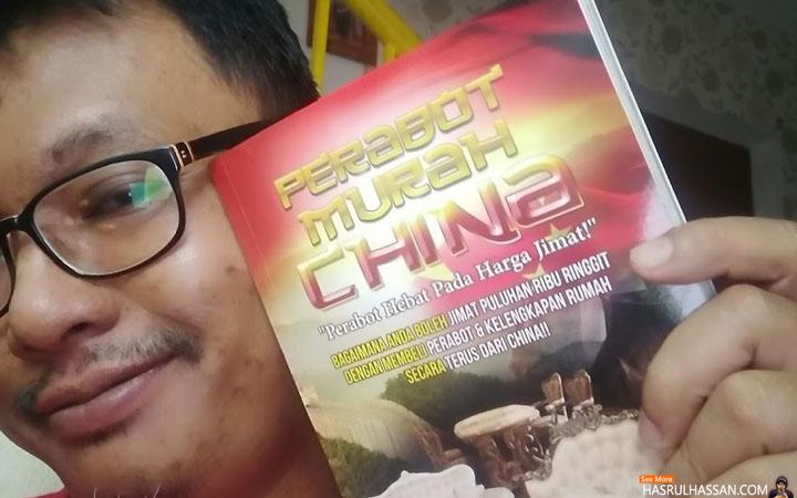 Buku dan DVD Panduan Beli Perabot Murah Di China