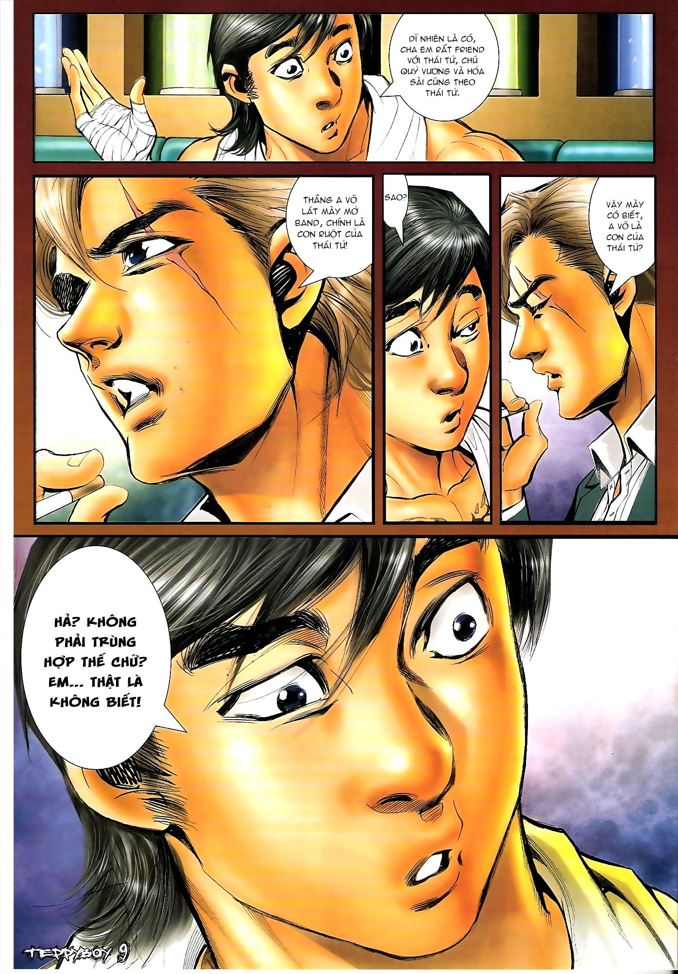 Người Trong Giang Hồ - Chapter 1306: Vinh Nhục Nhất Chiến 1 - Pic 6