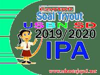 Contoh Soal Tryout USBN IPA 2020 Lengkap dengan Kunci Jawaban | Contoh Ke-1