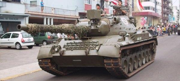 Leopard-1 A1 Carro de combate médio (KMW Kraus-Maffei Wegmann)
