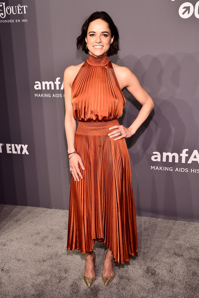 Michelle Rodriguez - amfAR New York Gala in NYC - 02/06/2019