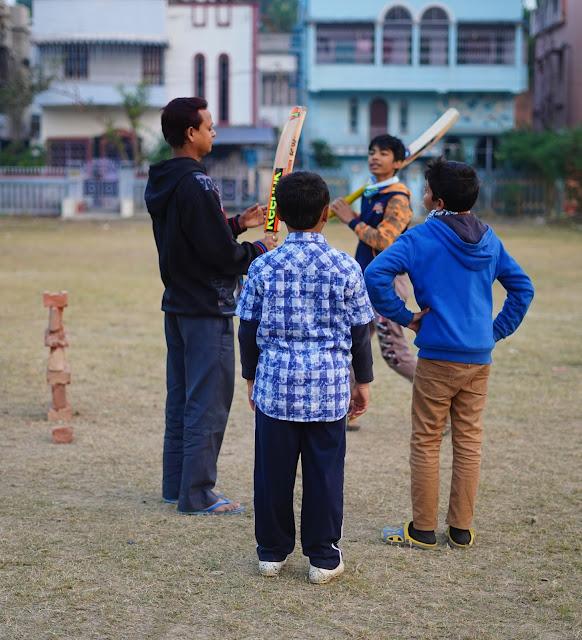Nephew Rick Playing Cricket 11