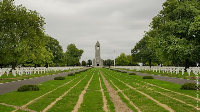 Brittany American Cemetery viaje Normandía turismo