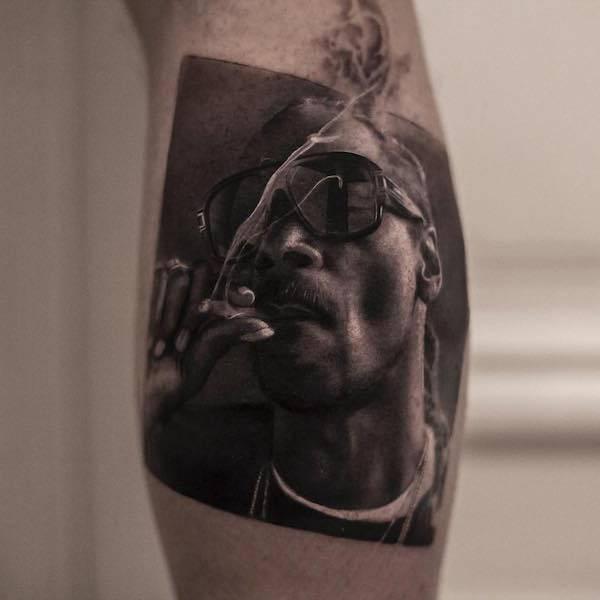 2 pac tatuagem