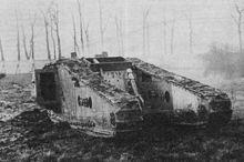 фото дослідного танку Mk-IV Tadpole