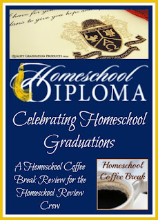 Homeschool Diploma - Celebrating Homeschool Graduations (A Homeschool Coffee Break review for the Homeschool Review Crew) on Homeschool Coffee Break @ kympossibleblog.blogspot.com