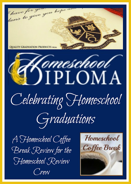Homeschool Diploma - Celebrating Homeschool Graduations (A Homeschool Coffee Break review for the Homeschool Review Crew) on Homeschool Coffee Break @ kympossibleblog.blogspot.com