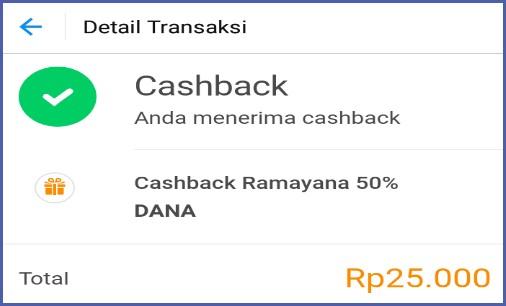 Cara Belanja Di Ramayana Bayar Pakai DANA Dapat Cashback 50%