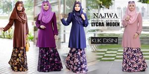 Baju Kurung Najwa