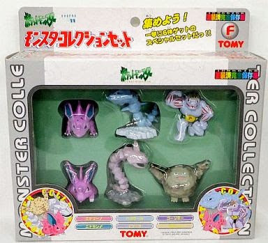 Onix Pokemon figure Tomy Monster Collection series Set-F