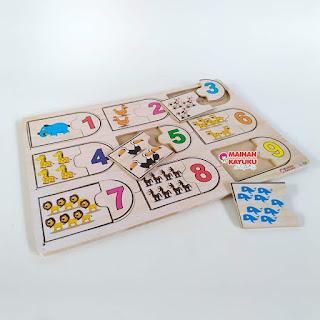 Puzzle Hitung Hewan