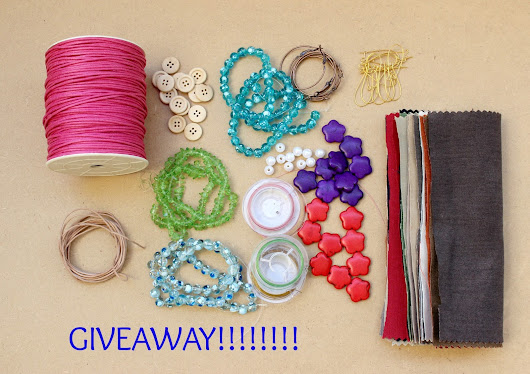 GIVEAWAY!!!! A craft kit full of Supplies!!!