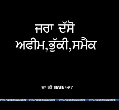 Punjabi Funny Ments And Quotes