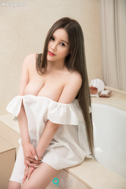 Image QingDouKe-2017-10-04-Ni-Shi-Yin-MrCong.com-006 in post QingDouKe 2017-10-04: Người mẫu Ni Shi Yin (倪詩茵) (51 ảnh)