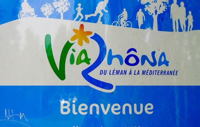 De Paris à Narbonne en vélo, ViaRhôna
