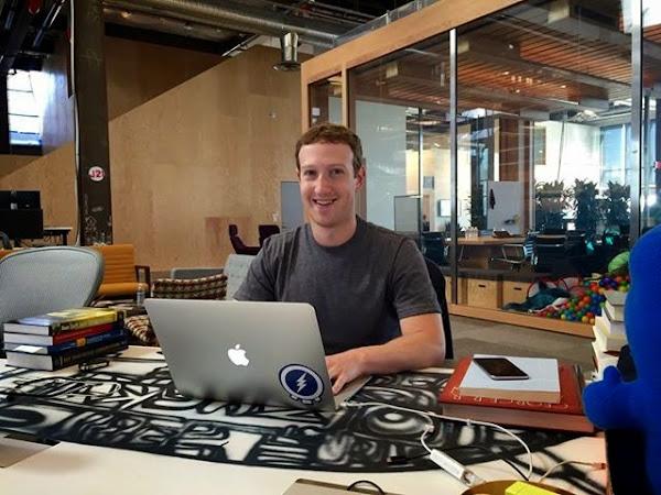 Facebook執行長佐克伯接受網友公開提問
