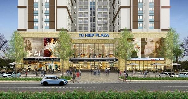 trung tâm thương mại chung cư tứ hiệp plaza pháp vân