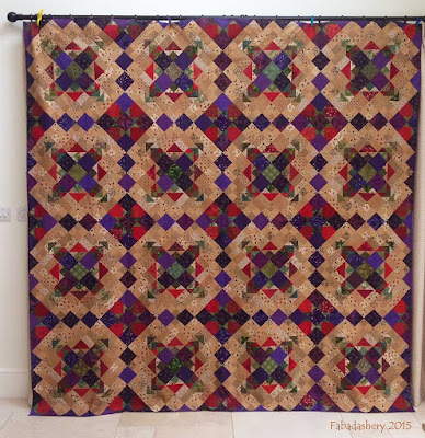 Easy Street, Bonnie Hunter Mystery Quilt 2012