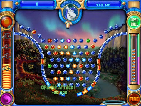Peggle screen shot.