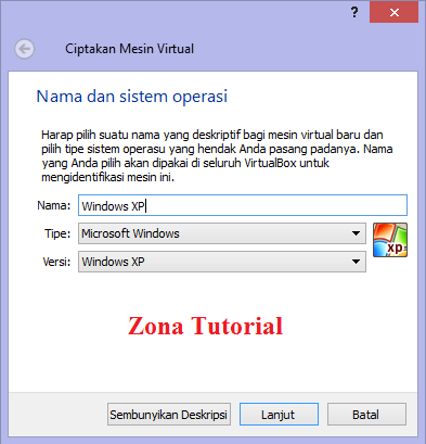 Tutorial Instal Operating System di VM VirtualBox