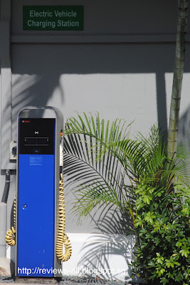 Singapore Electric Vehicle Charging Station