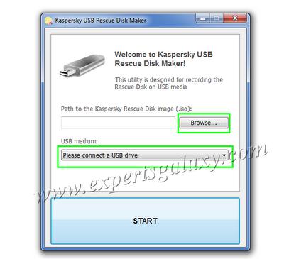 USB Rescue Disk Maker