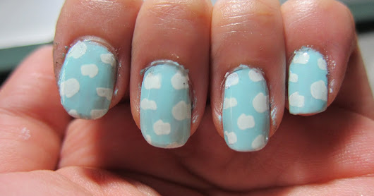 Cloud Nails and The Face Shop Nail Polish Review