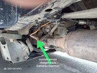Harga Dan Fisik Sensor O²/Sensor Oksigen Toyota Avanza G VVTi
