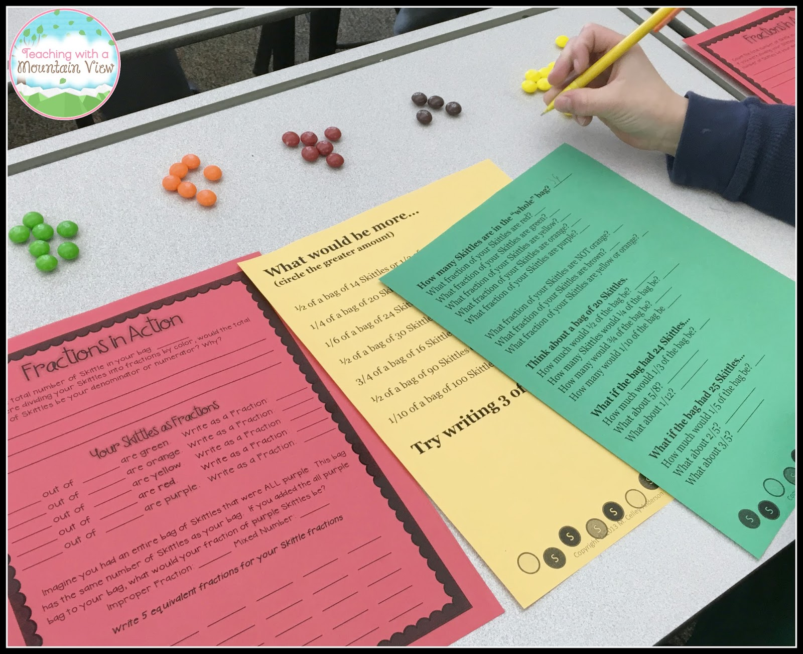 I Always Love To Incorporate Some Skittles Fun Into Our Lessons! When We  Were Working Start Your Learnzillion Account