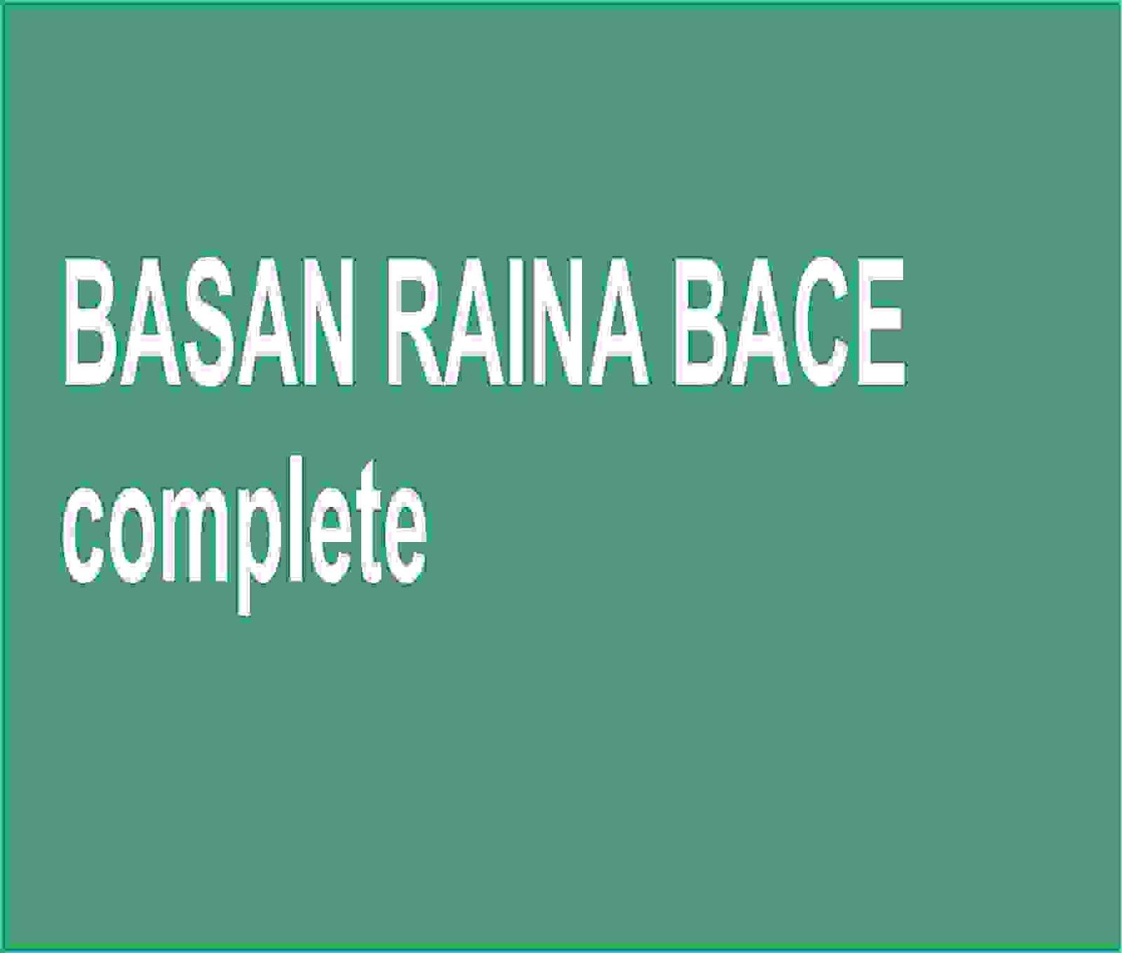 BASAN RAINA BACE - Gidan Novels | Hausa Novels